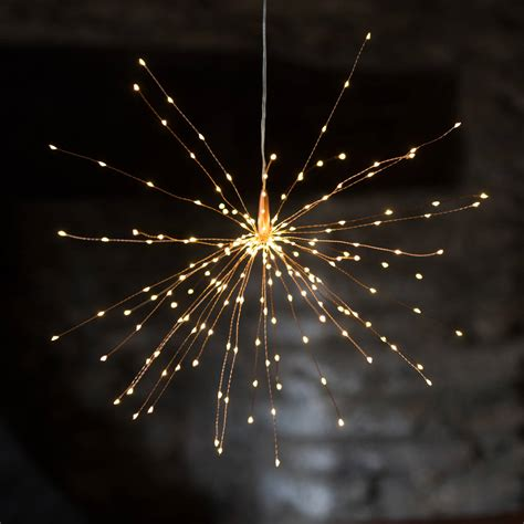 copper light 50cm mains by distinctly living