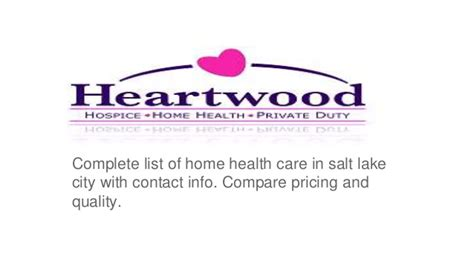 home health care salt lake city