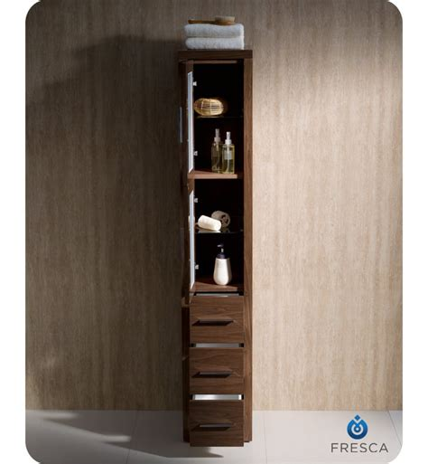 tall bathroom linen cabinet fresca fst6260wb torino tall bathroom linen side cabinet