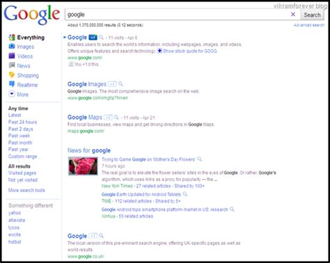blog layout google google search results get new layout and design