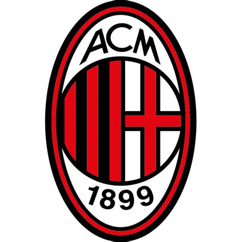 Stiker Ac stickers logo foot milan ac color stickers