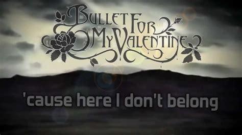bullet for my a place where you belong lyrics bullet for my a place where you belong hq