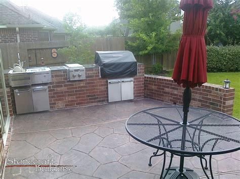 custom outdoor kitchen and fireplaces stonecraft tomball outdoor kitchens fireplaces stonecraft builders