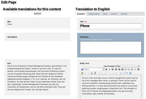 Comfortable Translate by Plone App Multilingual As The Future Of Plone Multilingual