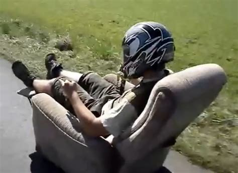 armchair car armchair car road traffic fail videos