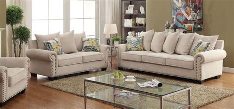 furniture  america skyler ivory living room set skyler