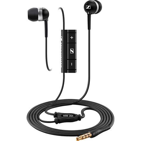 Sennheiser Mm 30g Earphone sennheiser mm 30i noise isolation in ear stereo 504739 b h photo