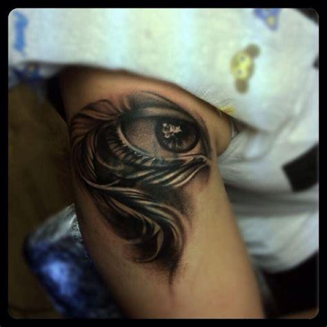 black and grey eye tattoo tattoo s by peter pitek