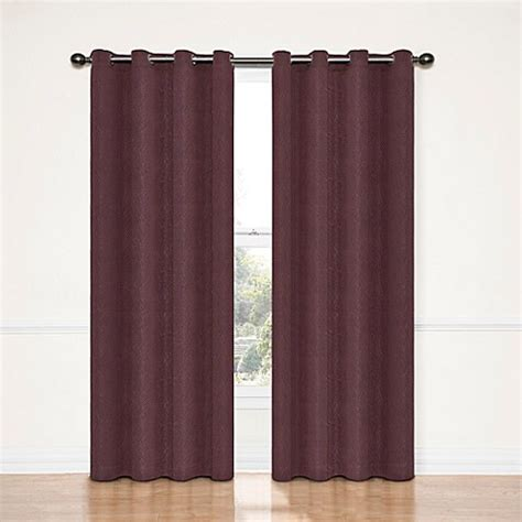 smoke grey curtains buy insola adele 95 inch blackout window curtain panel in