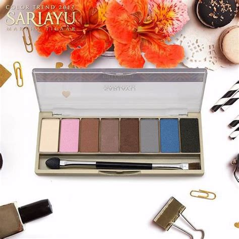 Eyeshadow Kit Sariayu Gili Lombok tutorial make up cantik buat hijaber saat liburan