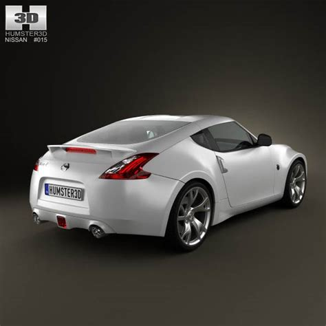 nissan coupe 2013 nissan 370z coupe 2013 3d model humster3d