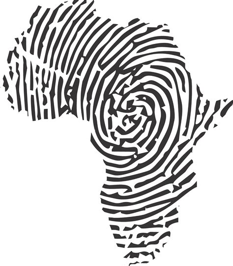 printwallart african fingerprint