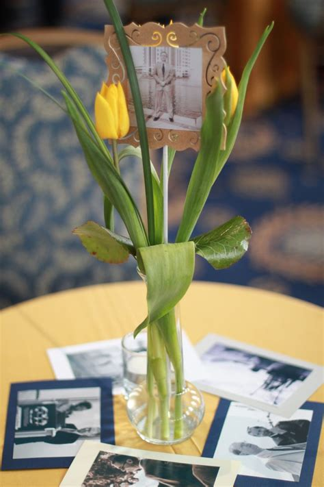 funeral decorations for tables table decorations hank miggins funeral ideas