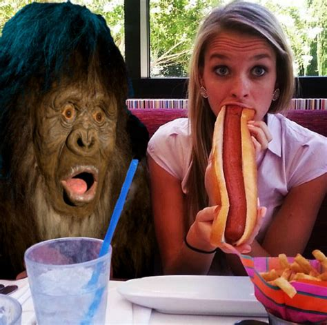Hot Dog Girl Meme - you might also like best of the obama eating a snow cone