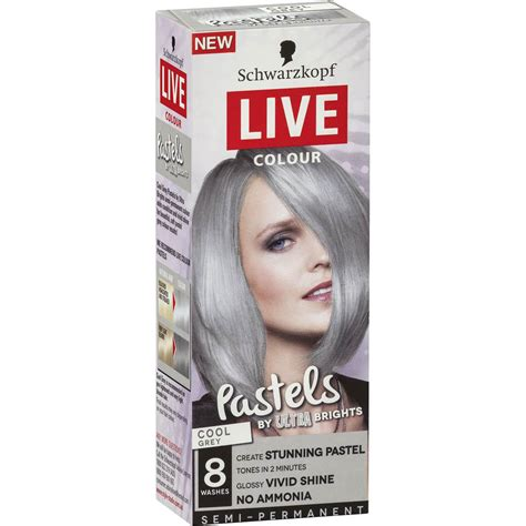 hair color schwarzkopf thr ratio schwarzkopf live colour hair colour pastels cool grey each