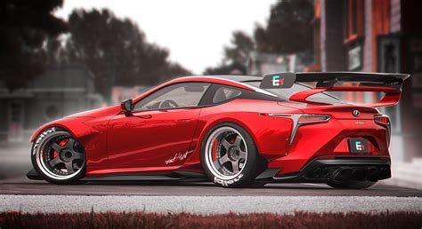 widebody lexus is350 lexus lc 500 widebody kit rear by whitesnake16 on deviantart