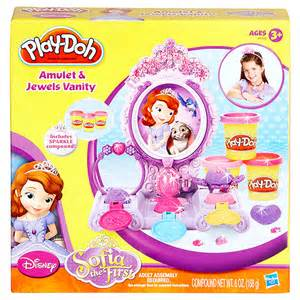 Play doh sofia the first vanity target australia