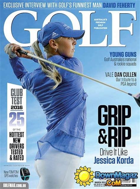 golf magazine au march    magazines