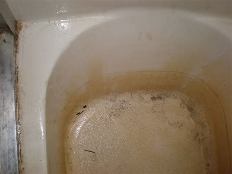 rust spots in bathtub a tub and sink cleaner that takes away rust and lime and