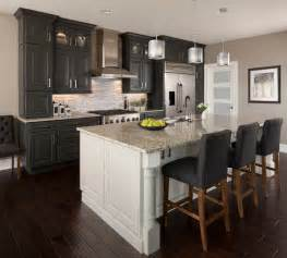 Black Cabinet Kitchens Kitchen Cabinets With Light Oak Trim Quicua