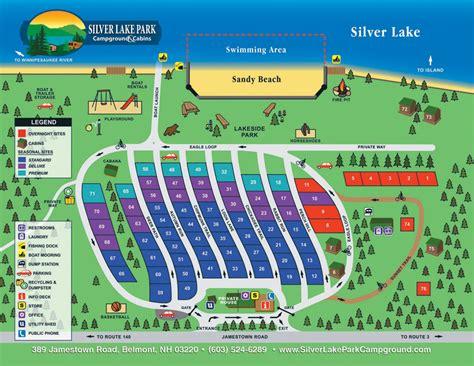 silverlake park silver lake park cground site map