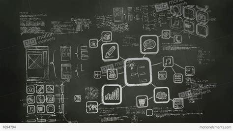 hd web software software development blackboard scribblings stock