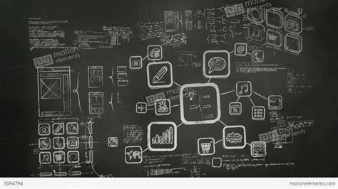 wallpaper design software software development blackboard scribblings stock