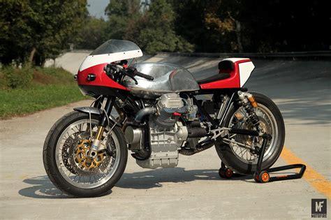 Custom Of custom of the week moto guzzi parabolica by fratelli