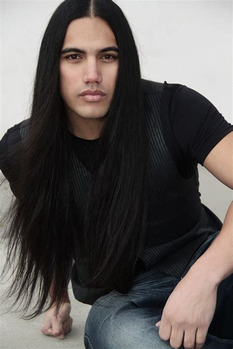 mens native hairstyle will rayne strongheart native american gemischt mixed