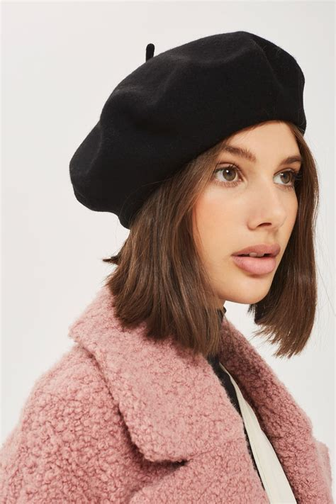 Wool Beret Hat classic beret hat new in fashion new in topshop