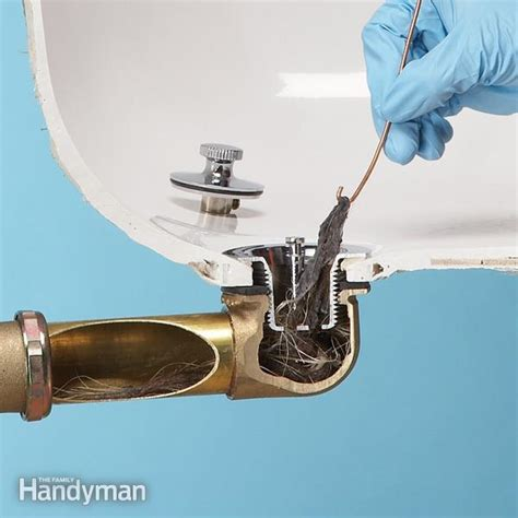 how to get hair out of a bathtub drain how to unclog a shower drain without chemicals family