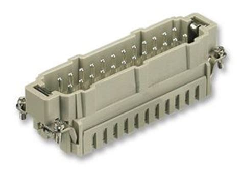 Harting Connector 24 Pin 0933 024 2616 harting heavy duty connector insert 24 pe