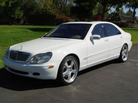 purchase used 2001 mercedes benz s600 optioned w electric trunk closer fantastic condition in