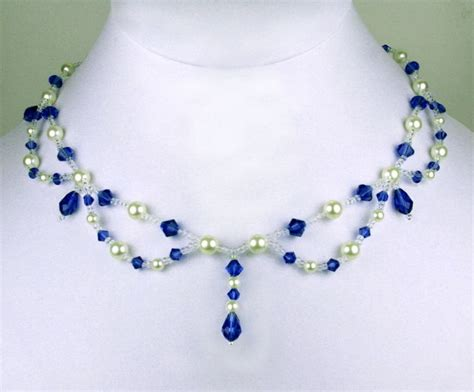 Handmade Jewelry Designs Patterns - free pattern for necklace click on link to get
