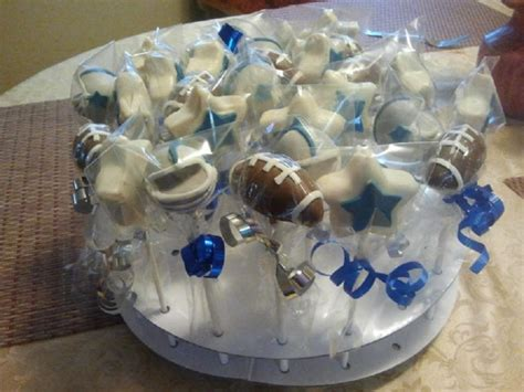 Football Cake Decorations Dallas Cowboys Football Cake Pops Cakecentral Com