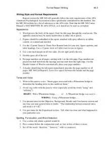 Short Technical Report Sample Technical Report Writing