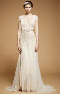 Line satin dress white empire waist long wedding dress udreambuy
