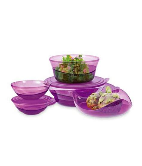 Tupperware Eleganzia Bowl tupperware eleganzia bowl 500 ml buy at best price