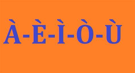 lettere con l accento scrivere vocali accentate in maiuscolo 192 200 204 210 217