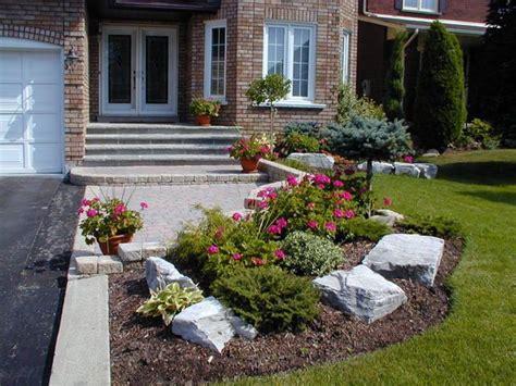 Small Front Yard Garden Ideas Landscaping Front Garden Ideas Toronto