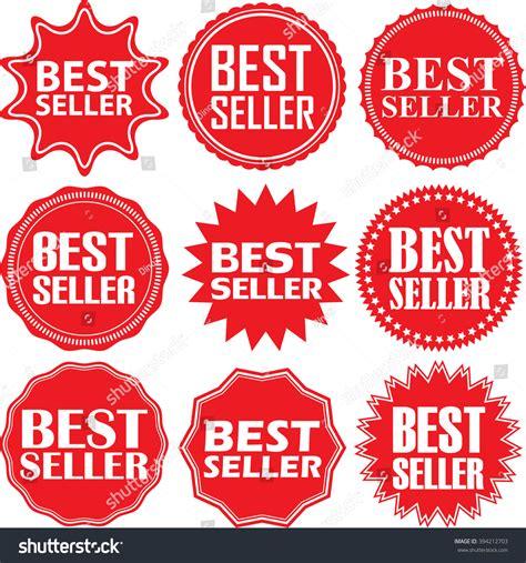 Best Seller 1895 Set Two In best seller label set best seller stock vector 394212703