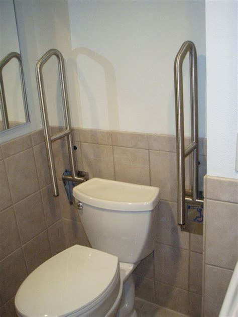 Handicapped Bathroom Fixtures Amazing Handicap Toilet Grab Rails Gallery Wheelchair Accessible Condo On The Decoras
