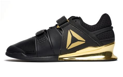 reebok legacy lifter black gold rogue fitness