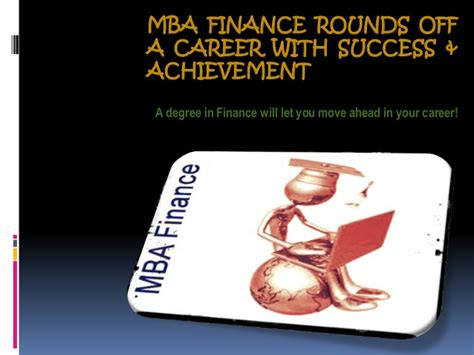 Mba Financing Uk by Mba Finance Rounds A Career With Success