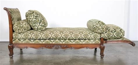 country daybed country louis xv style walnut meridienne daybed at