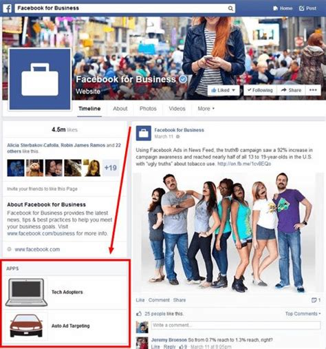 facebook app layout change new page design facebook page applications tabs back in