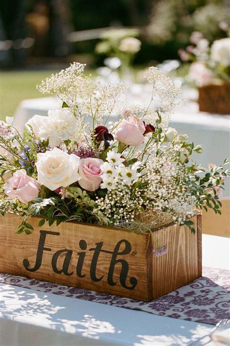 20 best wooden box wedding centerpieces for rustic weddings deer pearl flowers