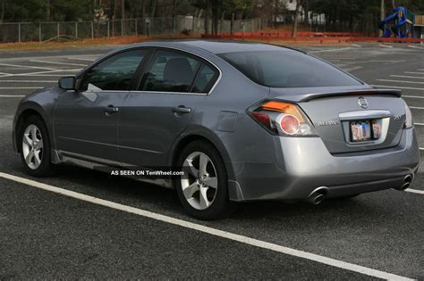 nissan sedan 2008 2008 nissan altima s sedan 2 5l 4cylinder gas saver