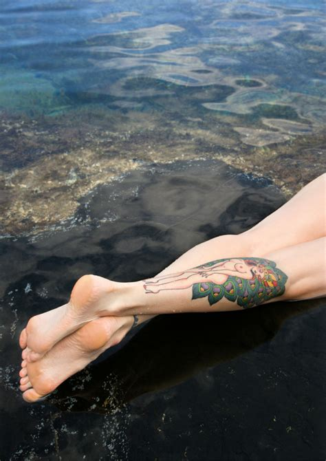 how long after getting a tattoo can you swim ink vivo