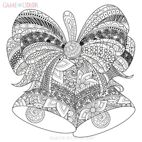 Christmas Goc Coloring Kids Intricate Coloring Pages Printable 2